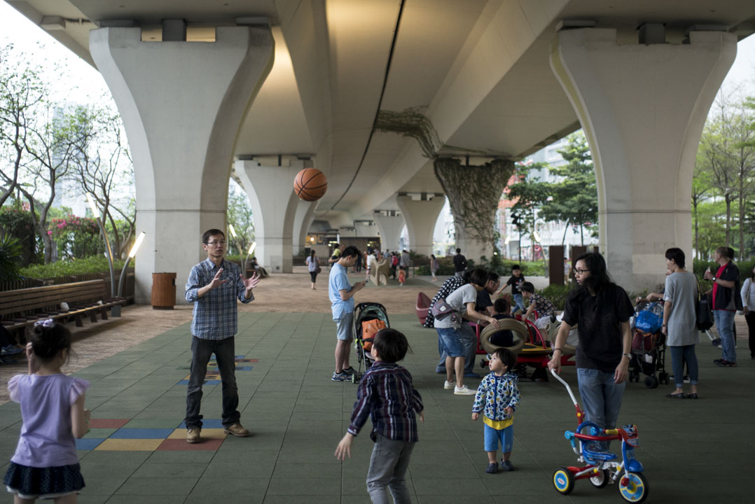 觀塘海濱公園。