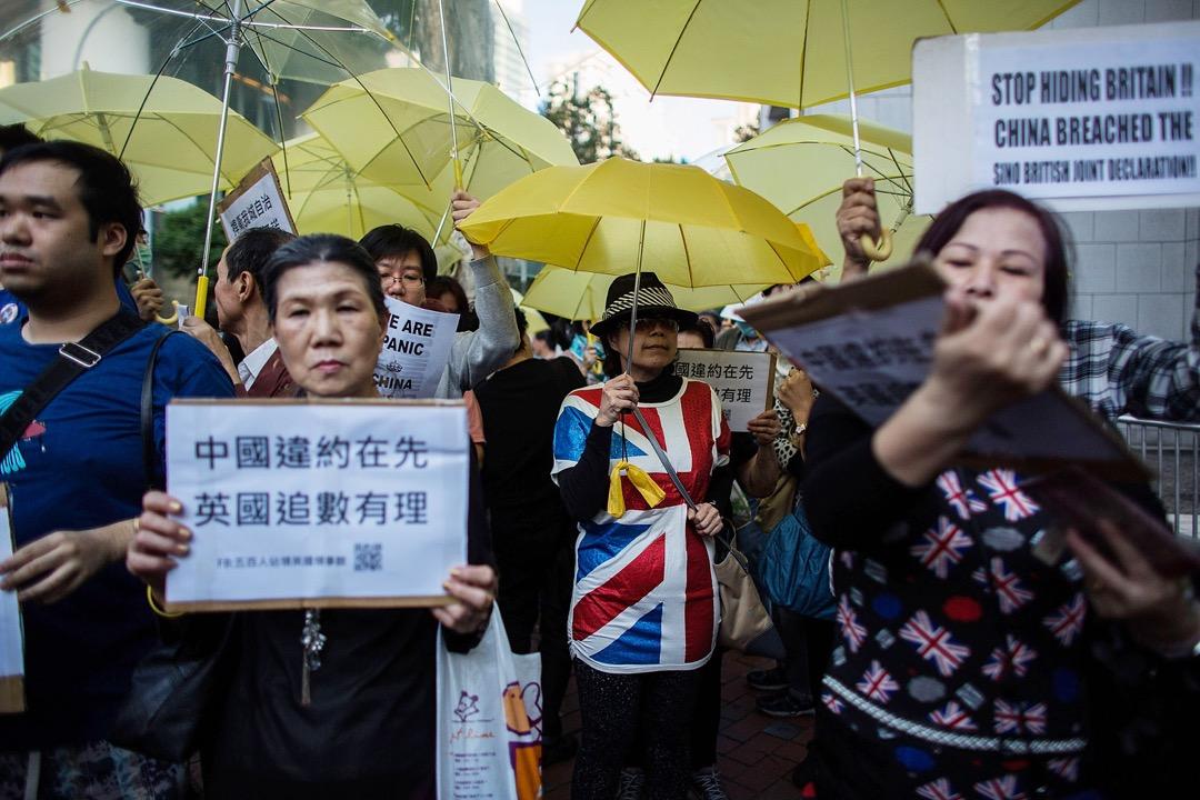 英國作為香港的前宗主國,它是否還有能力和慾望,在香港現今出現的巨大政治爭議上發揮一定的作用?
