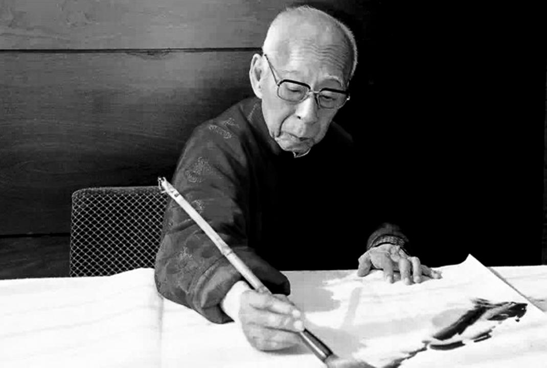 2018年2月6日淩晨,一代國學大師饒宗頤先生於睡夢中安詳逝世,享年101歲。 攝:Imagine China