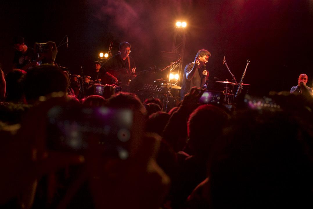 2018年1月7日,李志在《香港早上好》巡迴演唱會演出。