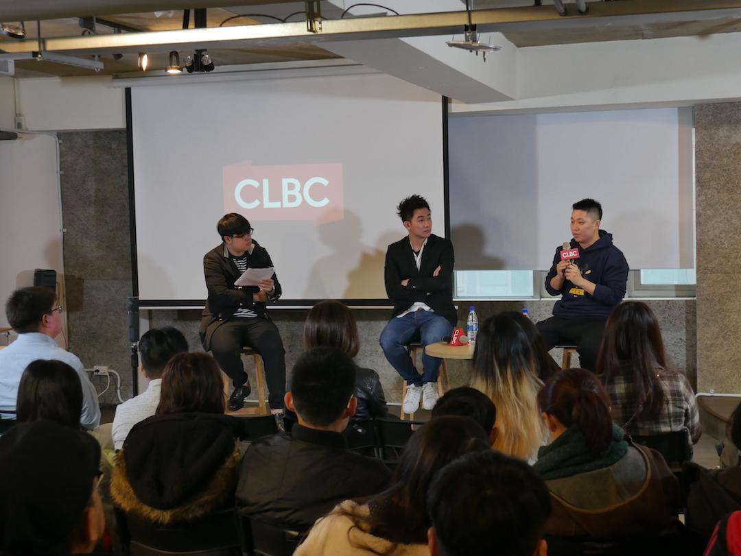 2018年2月11日,謝政豪、巫秀陽出席端傳媒的「年輕創業世代,如何創造影響力?」專題講座,張志祺擔任主持。  攝:Wavinfo