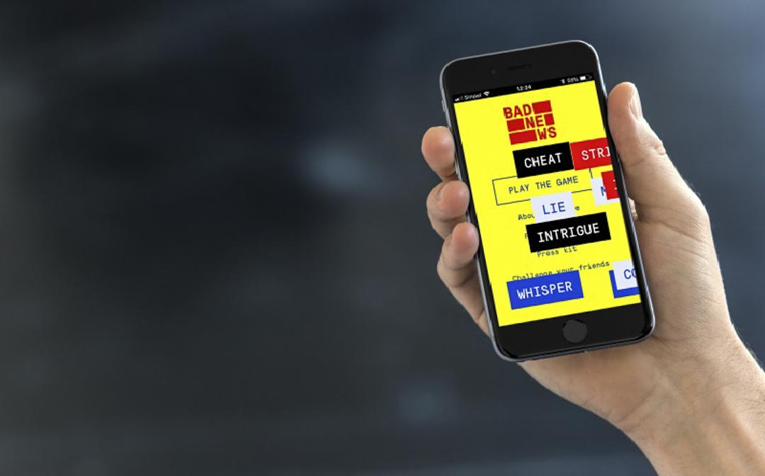英國劍橋大學與荷蘭一個教育公眾分辨假新聞的組織,合作開發「壞消息」(Bad News)的網絡遊戲,以反面教材方式教育大眾提防假新聞。 網上圖片