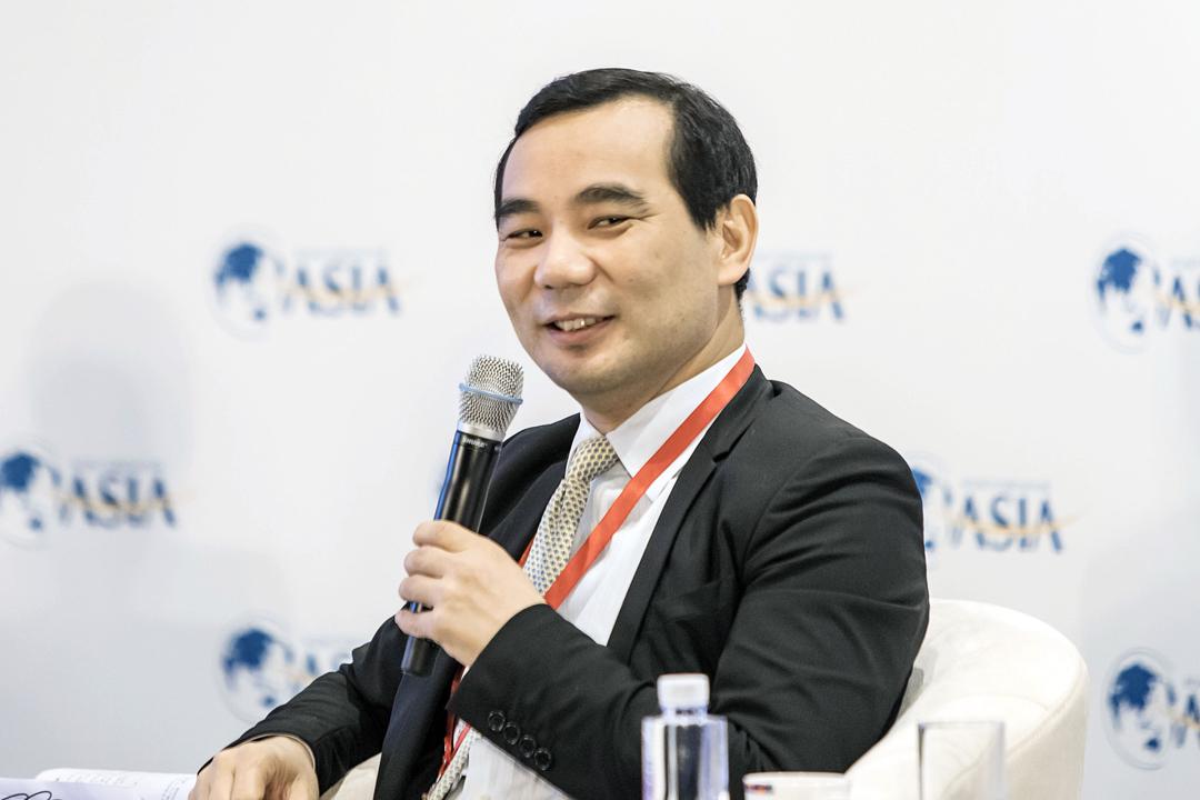 中國保監會今天發出公告,指安邦保險集團原董事長、總經理吳小暉因涉嫌經濟犯罪,被依法提起公訴。 攝:Qilai Shen / Getty Images