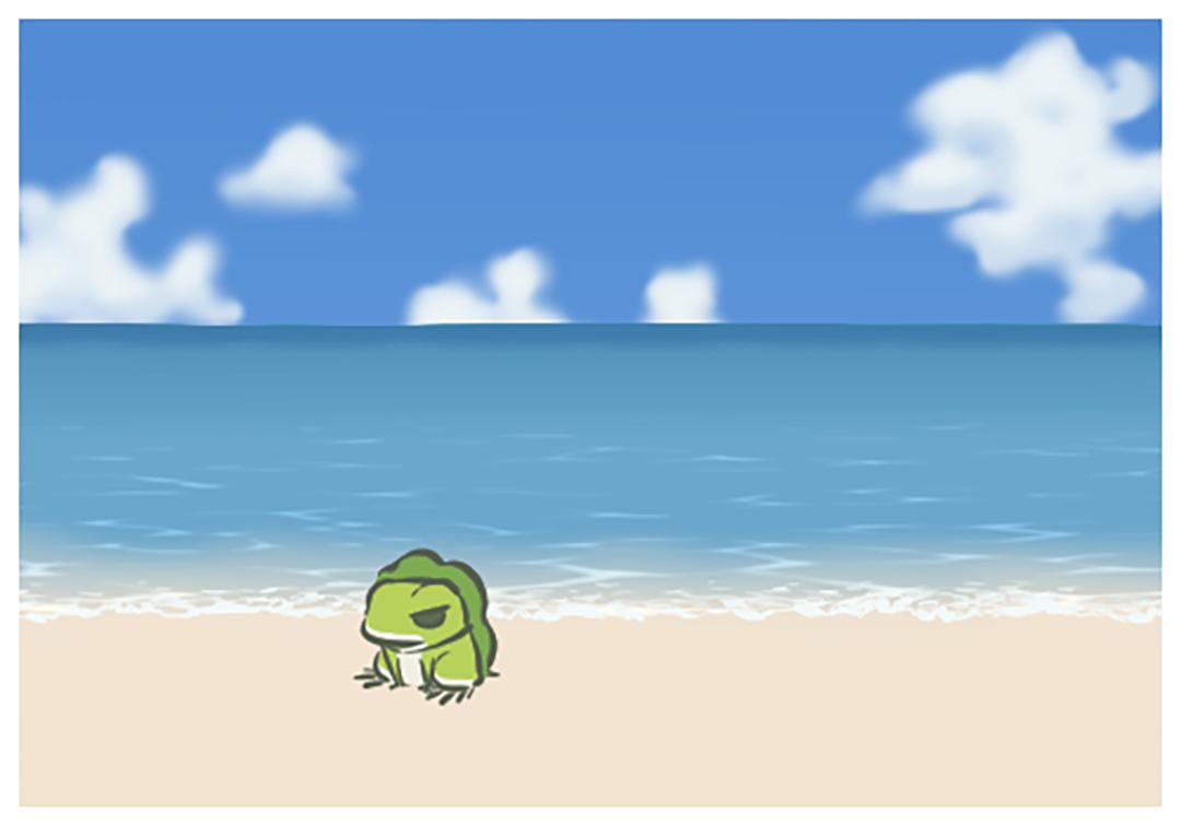 「我蛙」寄來的相片。