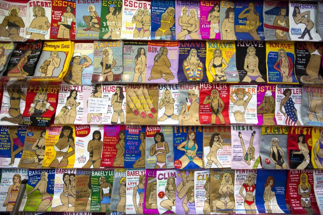 美國波士頓南區一個性教育項目以「色情製品知識」為課程主題,用五週時間與高中生們探討色情片中關於性別、性能力、親密關係等的描述。 攝:Rosie Hallam/Barcroft Media via Getty Images