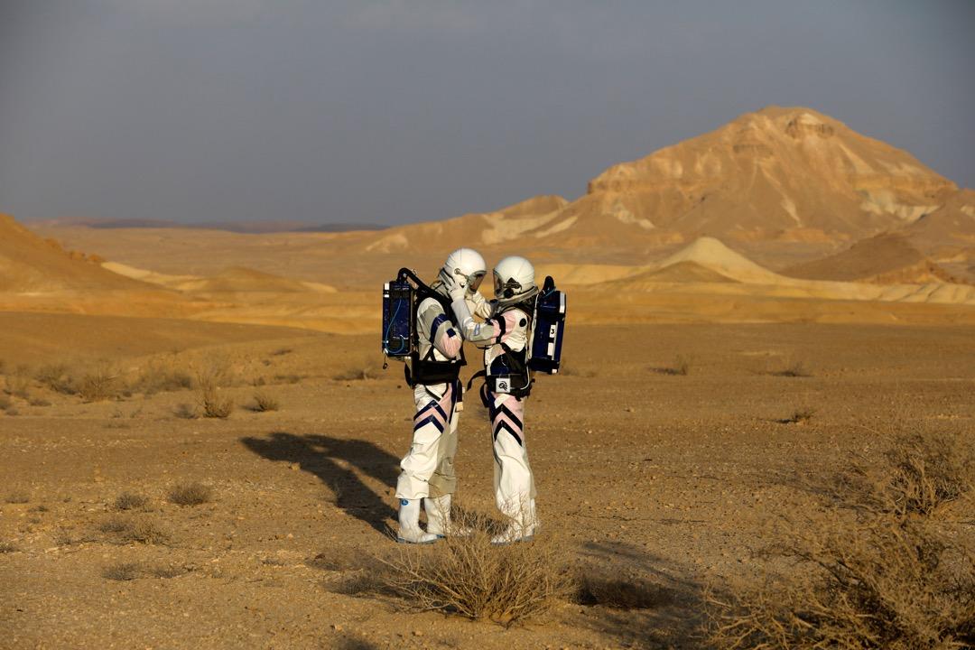 2018年2月18日,以色列航天局在以色列內蓋夫沙漠進行 D-MARS 模擬火星研究任務。