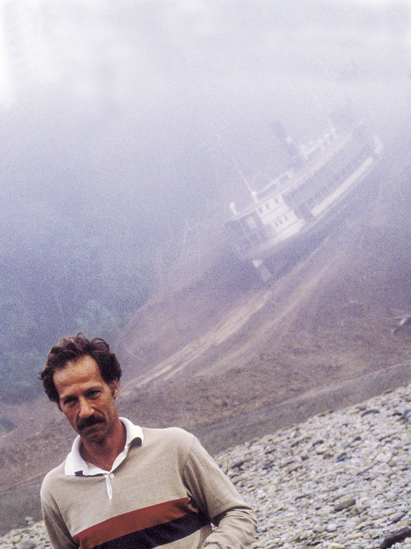 拍攝《陸上行舟》(Fitzcarraldo) 現場的荷索。