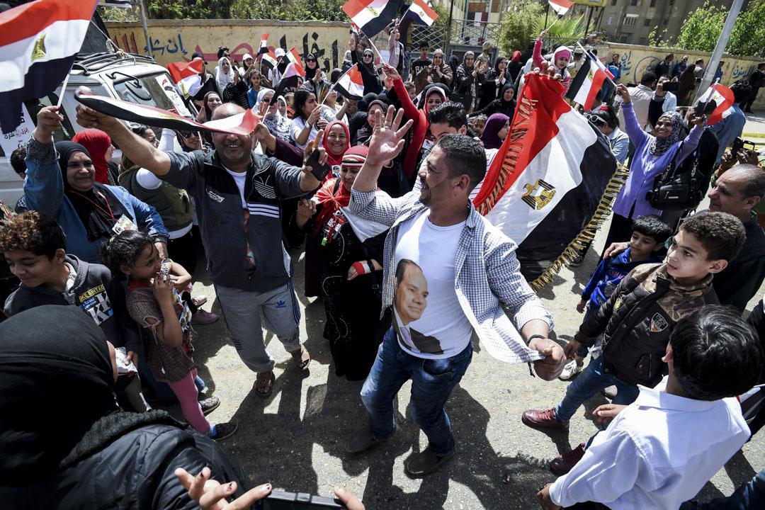 埃及總統大選結束,埃及官媒引述初步點票結果稱,現任總統塞西(Abdel Fattah el-Sisi)以92%得票率順利連任。