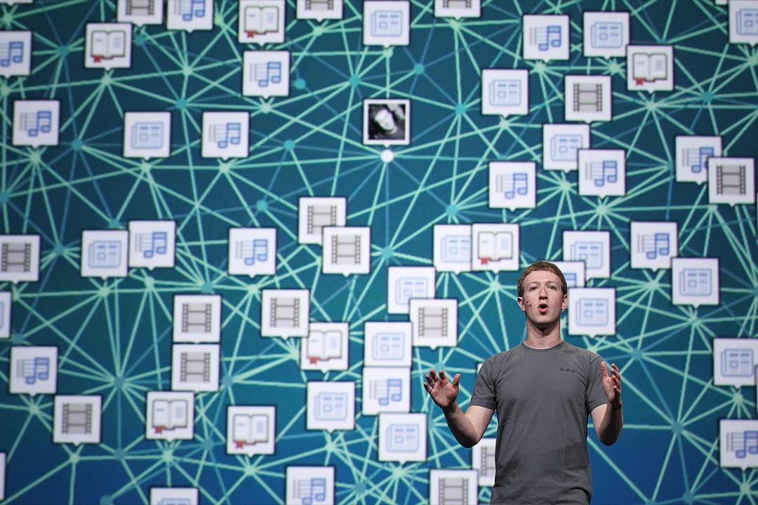 看着臉 Facebook 最近爆出的個人資料外洩事件,我們如今已然身處於一個巨大的用戶資料鍊成陣中! 攝:Justin Sullivan/Getty Images