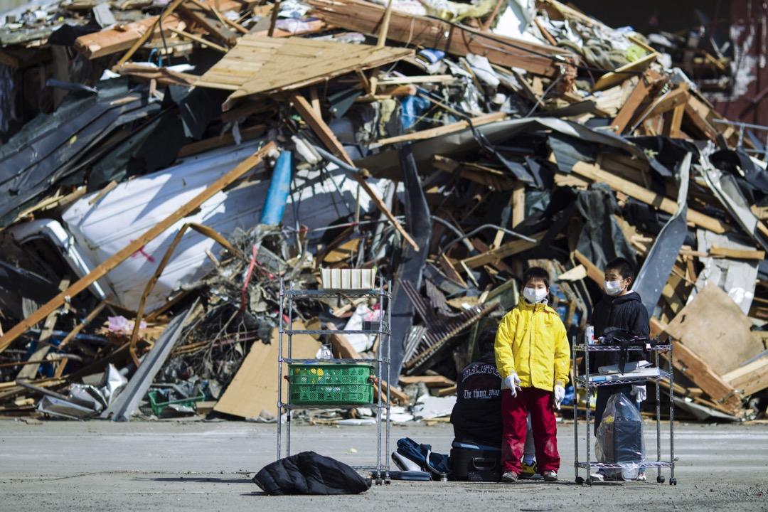 不幸的是,孩子們避難成功,但大人們卻不然,釜石市共有一千多人罹難。