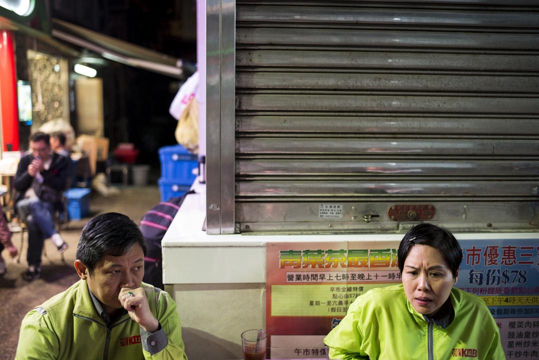 2018年2月26日凌晨1時,葉蔚琳與同為九巴司機的丈夫在荃灣一間茶餐廳接受記者訪問。平常二人每天凌晨下班都會在荃灣宵夜,之後再乘通宵巴士回家。