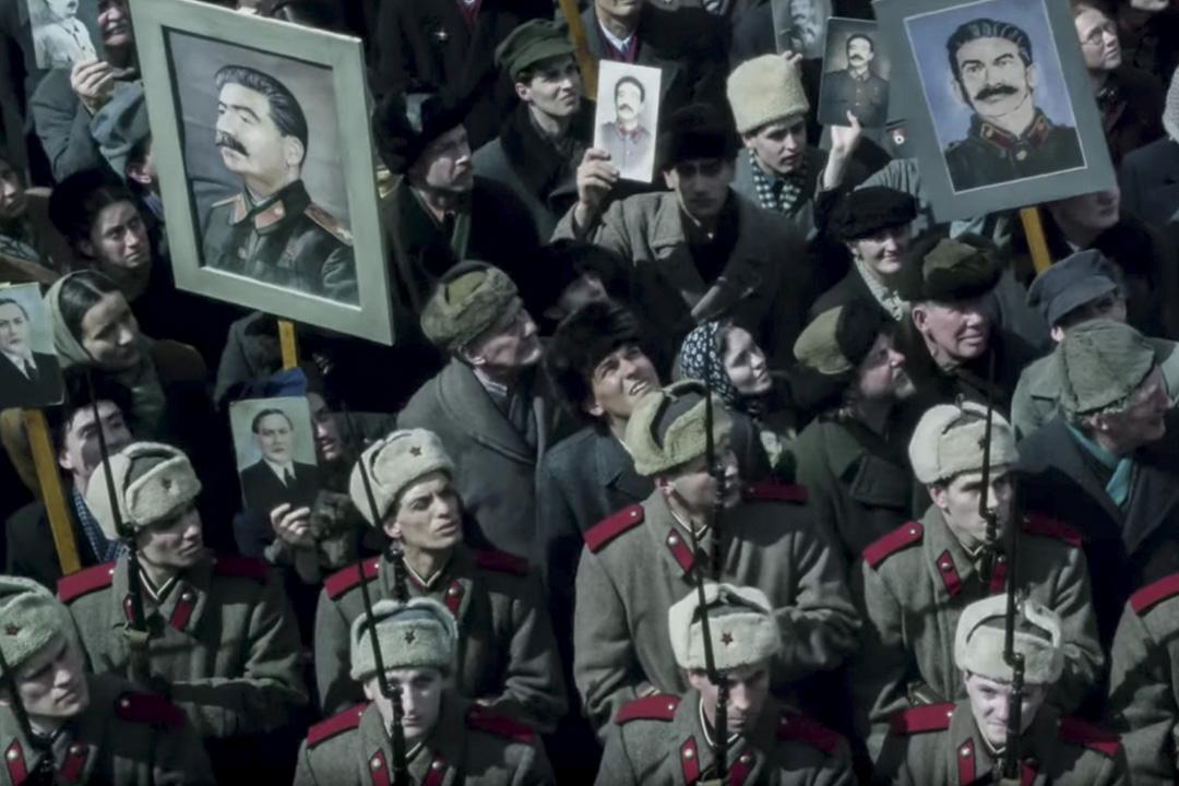 《史太林之死》電影片段。