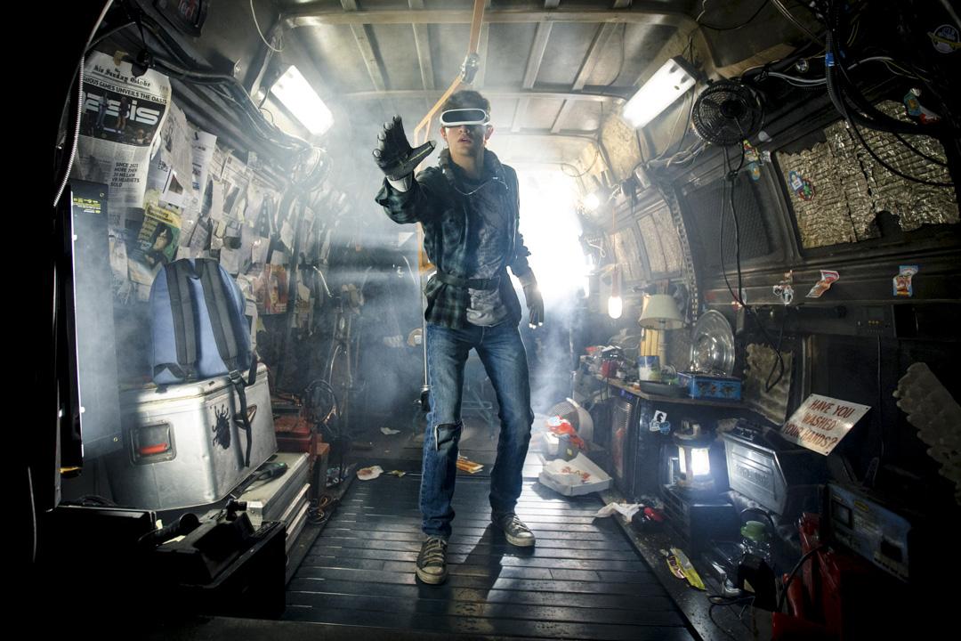 史提芬史匹堡(Steven Spielberg)執導的《挑戰者1號》(Ready Player One)電影劇照。 圖:Imagine China
