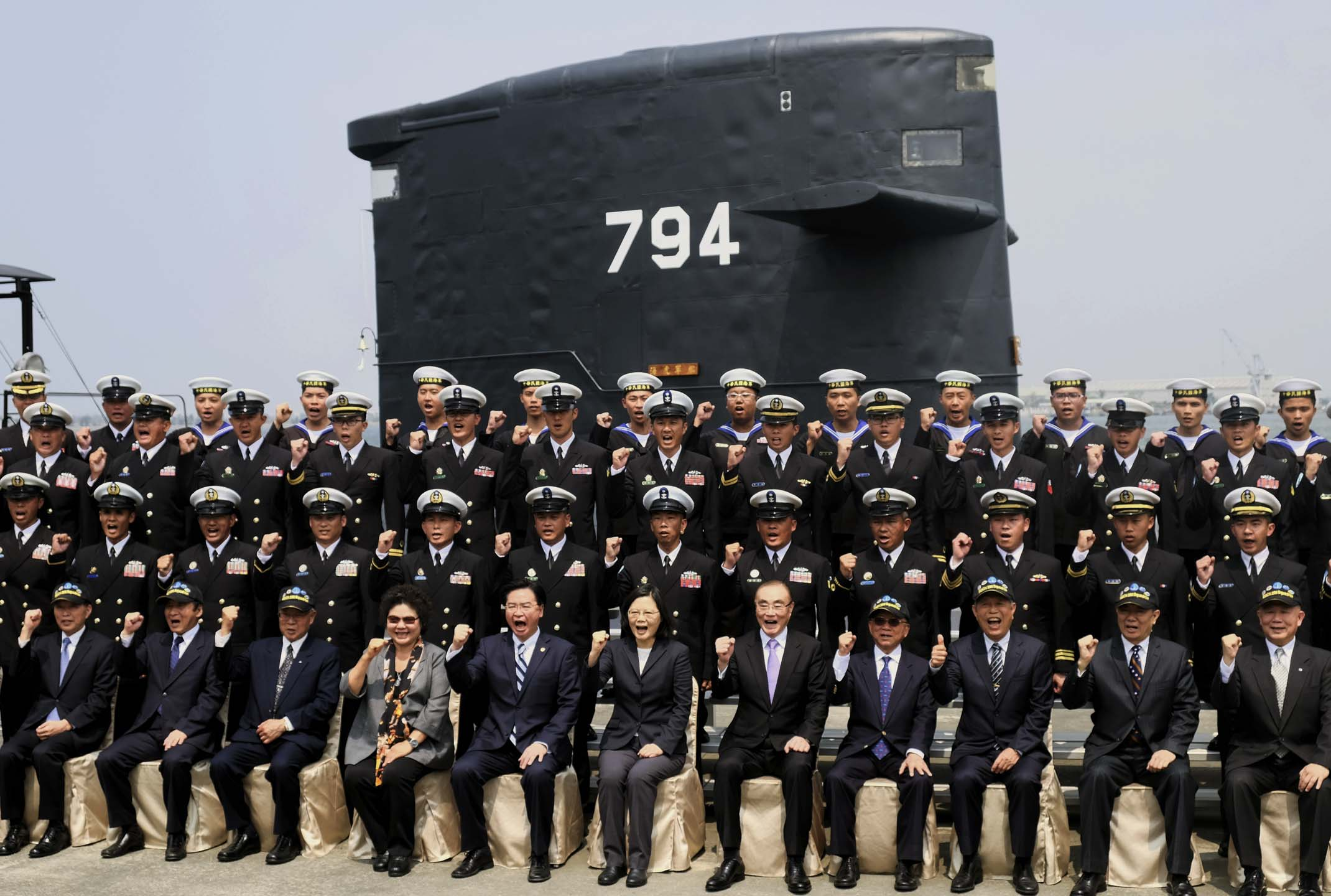 2017年3月21日,台灣總統蔡英文親自主持「潛艦國造設計啟動暨合作備忘錄簽署儀式」。