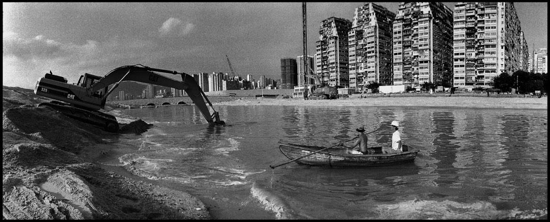 《西九龍填海區》。