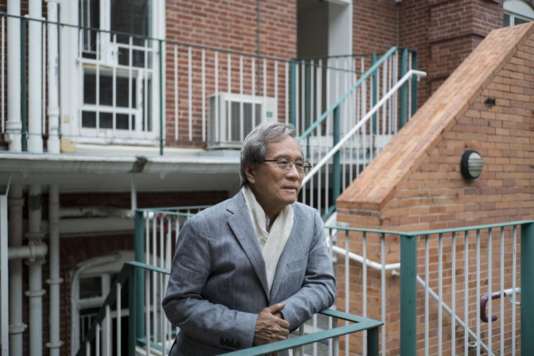 香港大學中文教育研究中心總監謝錫金。