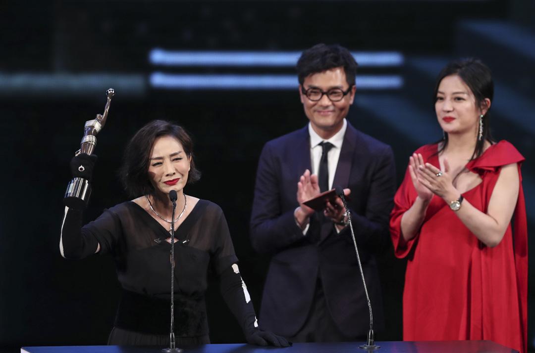 毛舜筠憑《黃金花》首次奪得最佳女主角。