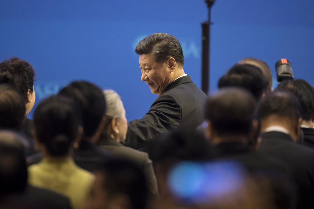 中國國家主席習近平出席博鰲亞洲論壇開幕儀式並發表主題演講,期間強調「中國開放的大門只會愈開愈大」。 攝:Qilai Shen / Getty Images