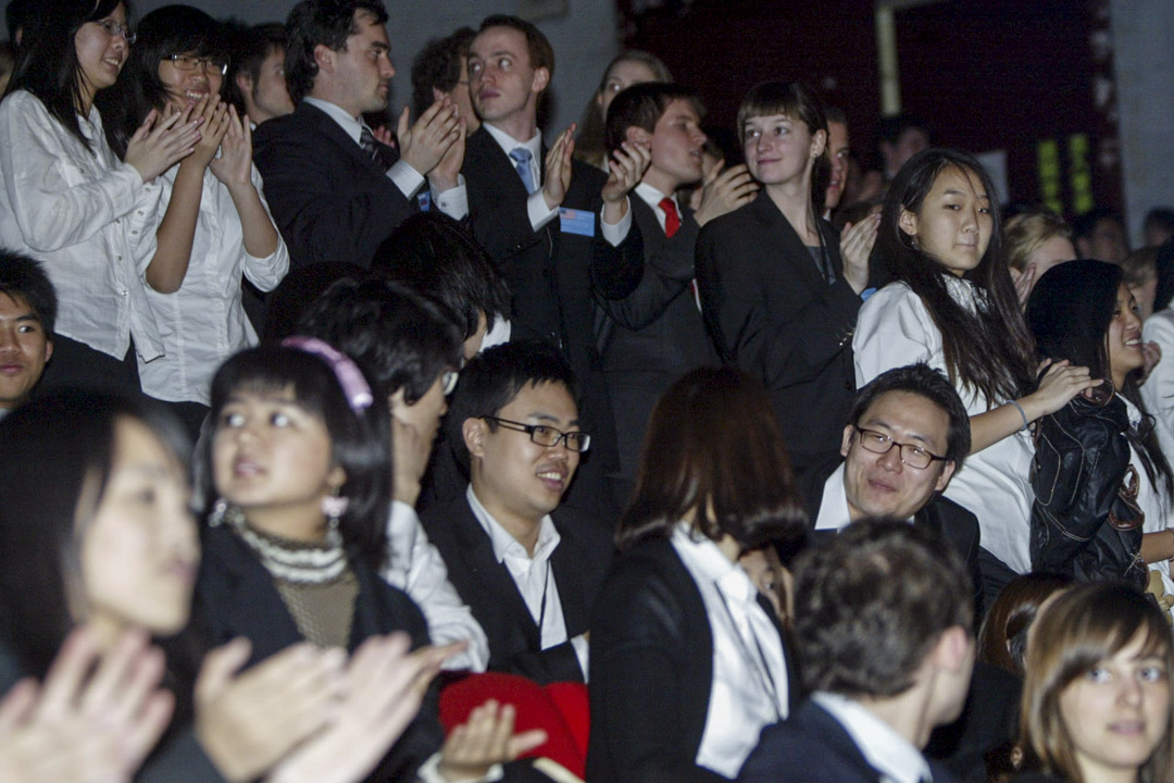 2010年3月14日,在台灣舉行的世界模擬聯合國會議開幕式。
