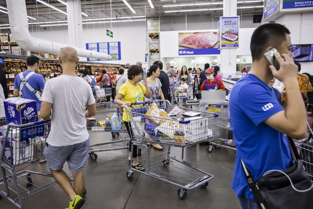 與普通的競賽乃至戰爭不同,當前的中美貿易摩擦並沒有公認的範圍。  攝:Qilai Shen/Bloomberg via Getty Images