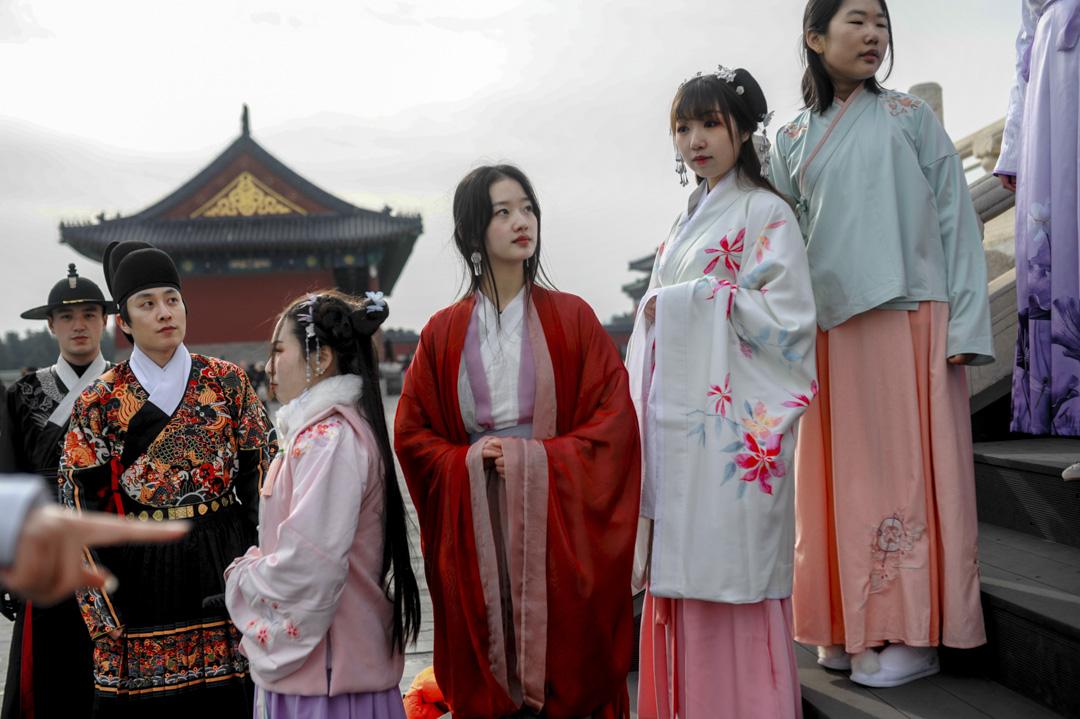 早前國內年輕人文化社區B站與共青團中央,共同發起了一項關於華服的活動——將農曆三月初三(4月18日)定為「中國華服日」。 攝:Imagine China