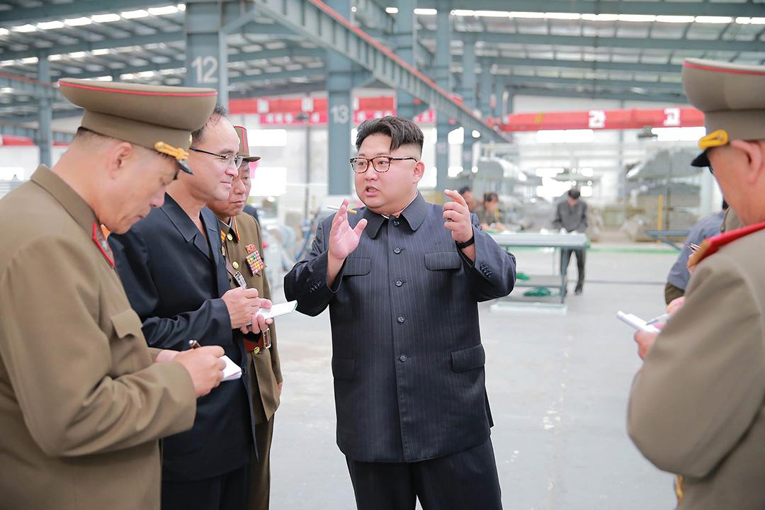 《華爾街日報》對朝鮮黑客計劃進行的調查顯示,過去18個月,該國黑客的身影出現在越來越多的網絡攻擊中,其黑客的技能水平已得到迅速提升。 攝:KCNA/AFP/Getty Images