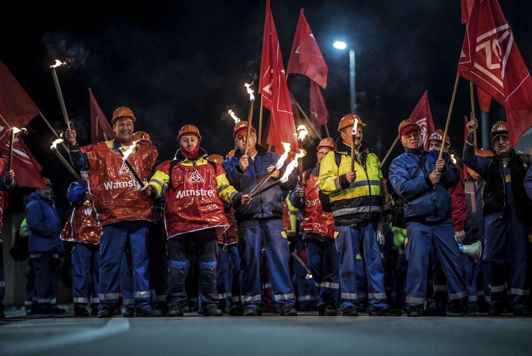 2018年1月,擁有390萬名會員、德國的五金工會發起大規模罷工,爭取改善薪資待遇、彈性工時及福利,經勞資博弈誕生了史無前例的28小時工作制。