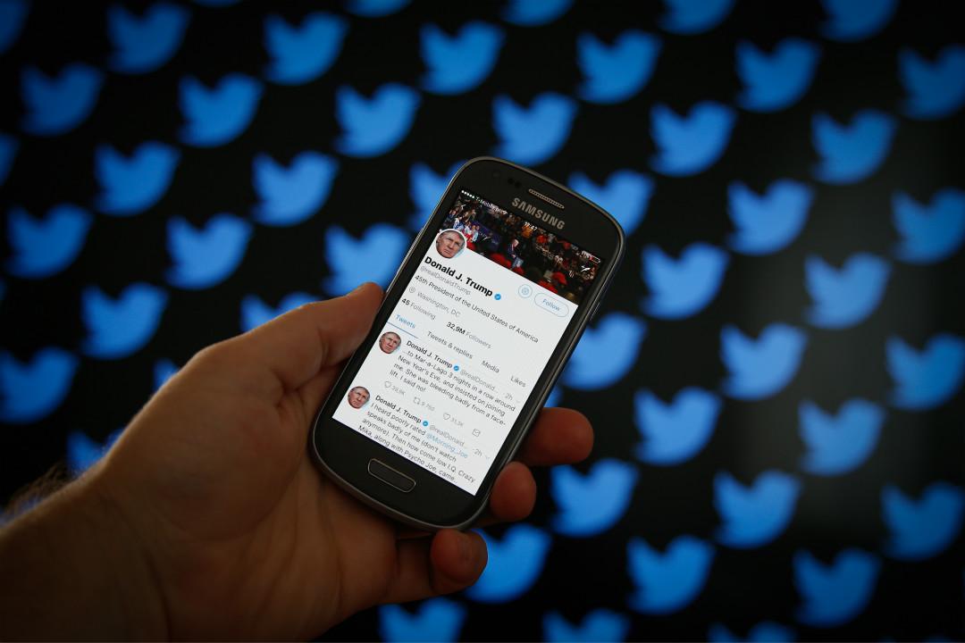2018年5月23日,美國紐約曼哈頓地方法院法官裁定,總統特朗普不得因政治理念不同而在 Twitter 上拉黑(block)其他用戶。 攝:Getty Images