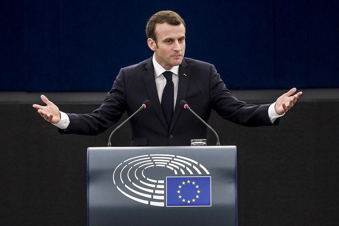 2018年4月17日,法國總統馬克龍以「歐洲的未來」為主題,在斯特拉斯堡的歐洲議會發表了演講。馬克龍正式提出了正在崛起的威權主義浪潮問題,激烈抨擊在全世界範圍內流行、在歐盟內部也開始崛起的威權主義傾向。