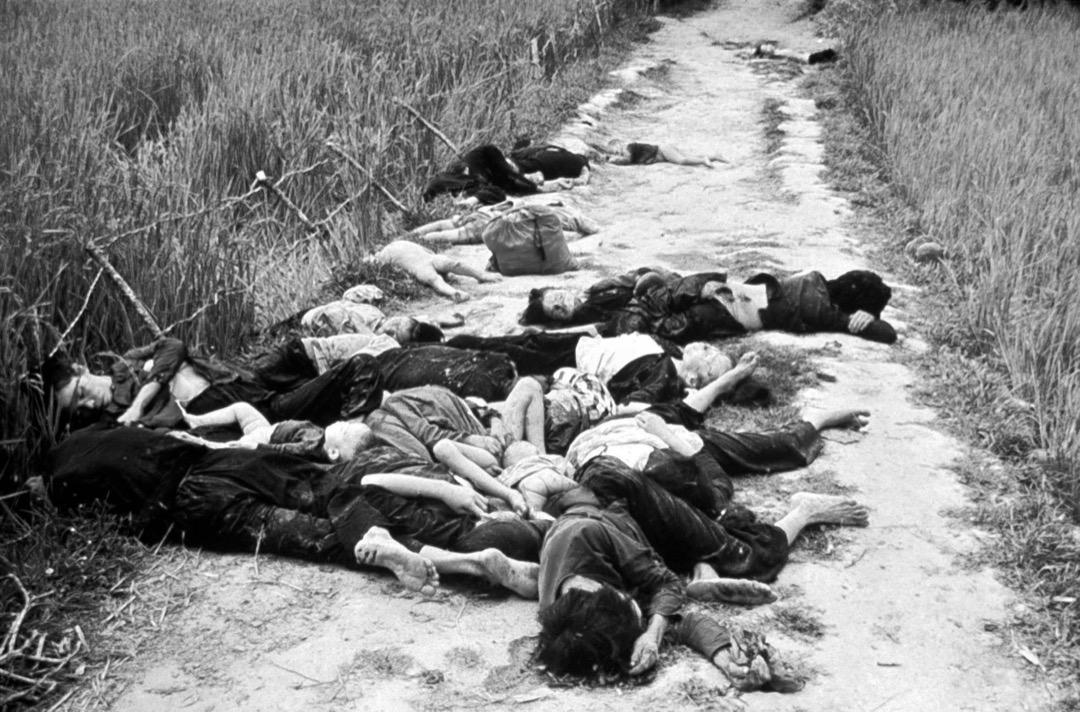3月16日,美軍步兵在越南廣義省美萊村(My Lai)進行屠殺,遇害者包括男女老幼和嬰兒,亦有輪姦女性和肢解屍體。