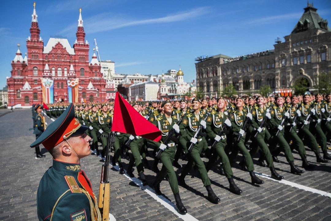 2018年5月9日,俄羅斯莫斯科舉行勝利日閱兵巡遊,紀念二戰中戰勝納粹德軍73週年。