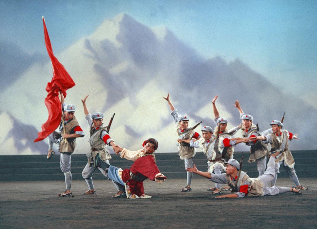 《東方紅》劇照。