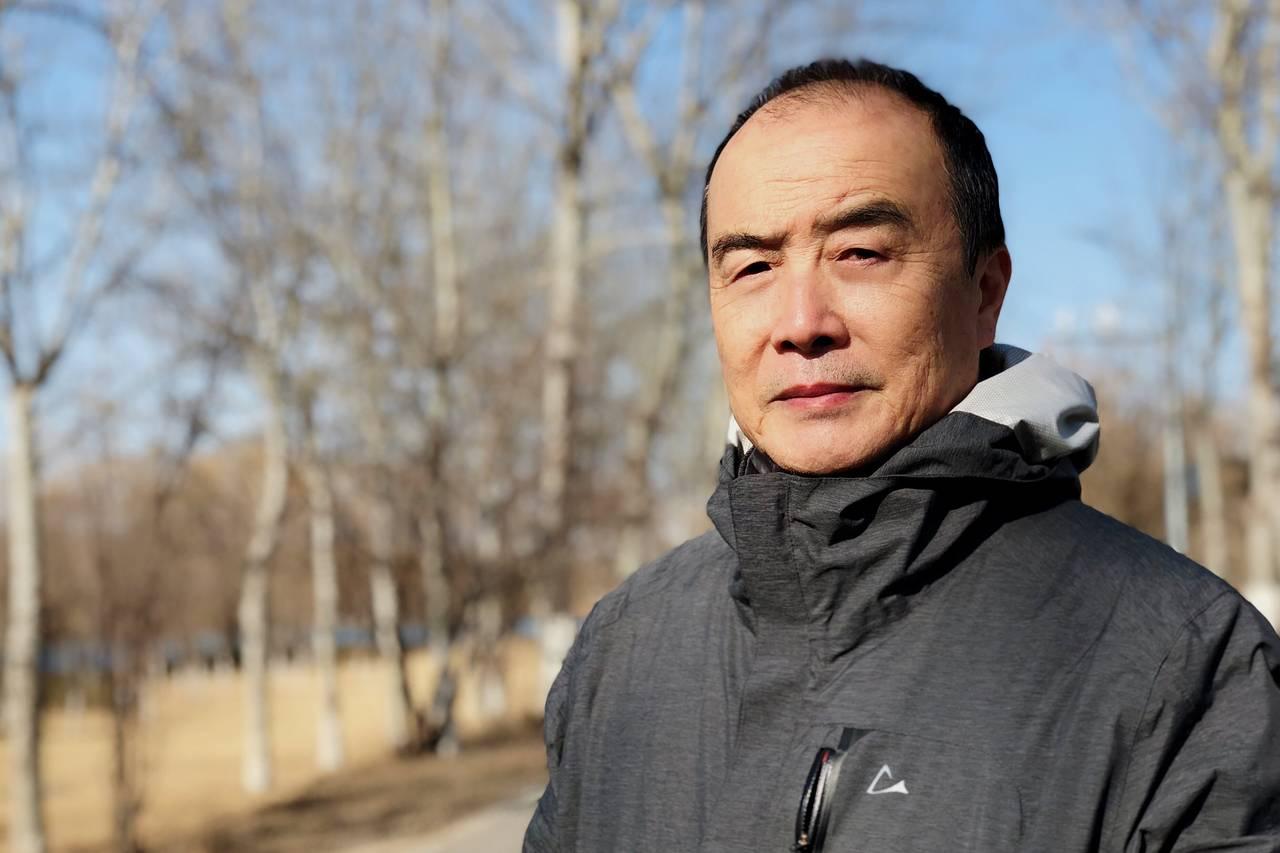 反烏托邦小說《大典》的作者王力雄近期攝於北京。