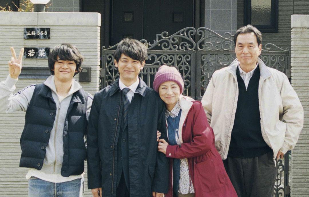 電影《患難家族》劇照。