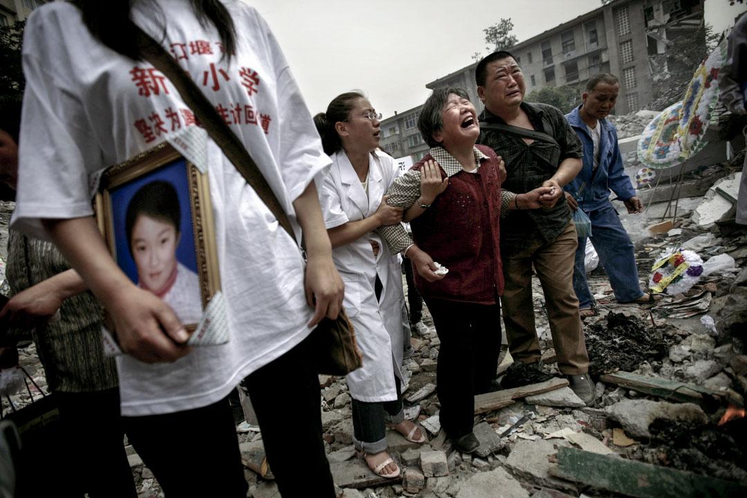 2008年,都江堰新建小學。