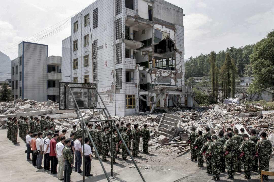 2008年,什邡鎣華中學。