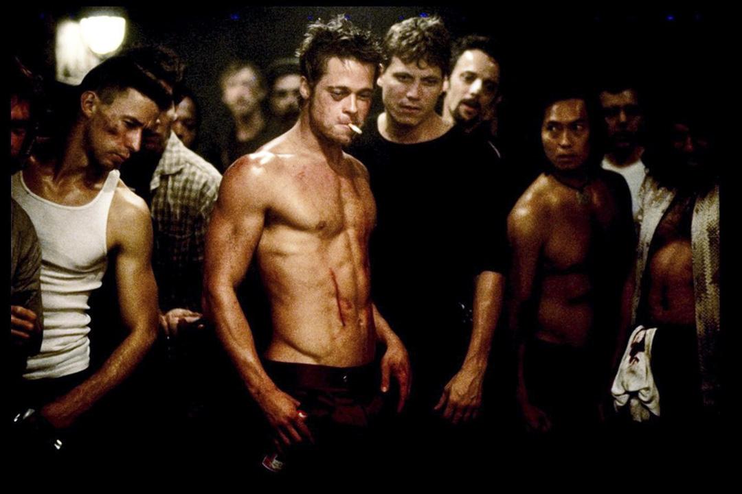 《Fight Club》電影劇照。