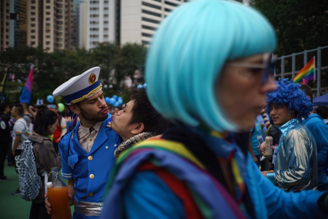 「腐女」與「同志」同遭整肅,但二者真的在同一戰壕裏嗎?雖然風波已經暫告一段落,但對於這次事件,仍有分析背後隱情的必要。 攝:Aaron Tam/AFP/Getty Images