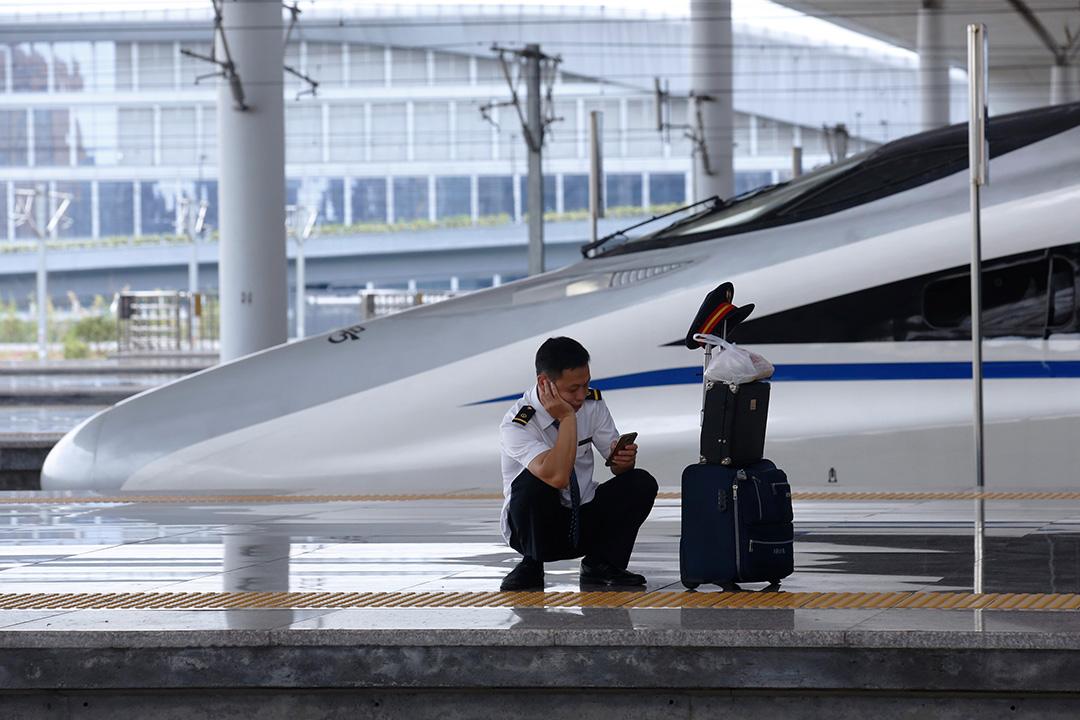 中國擁有全球規模最大的高鐵網絡,總里程超過24140公里。 攝:Luke MacGregor/Bloomberg via Getty Images