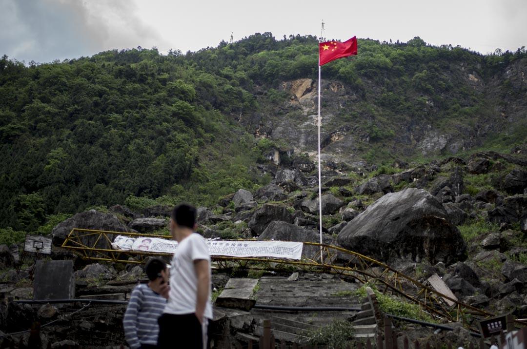 2018年,北川茅壩初中。
