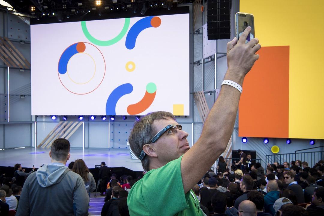 Google I/O 發布會更新一系列AI產品,你最期待哪一項? 攝:David Paul Morris/Bloomberg via Getty Images