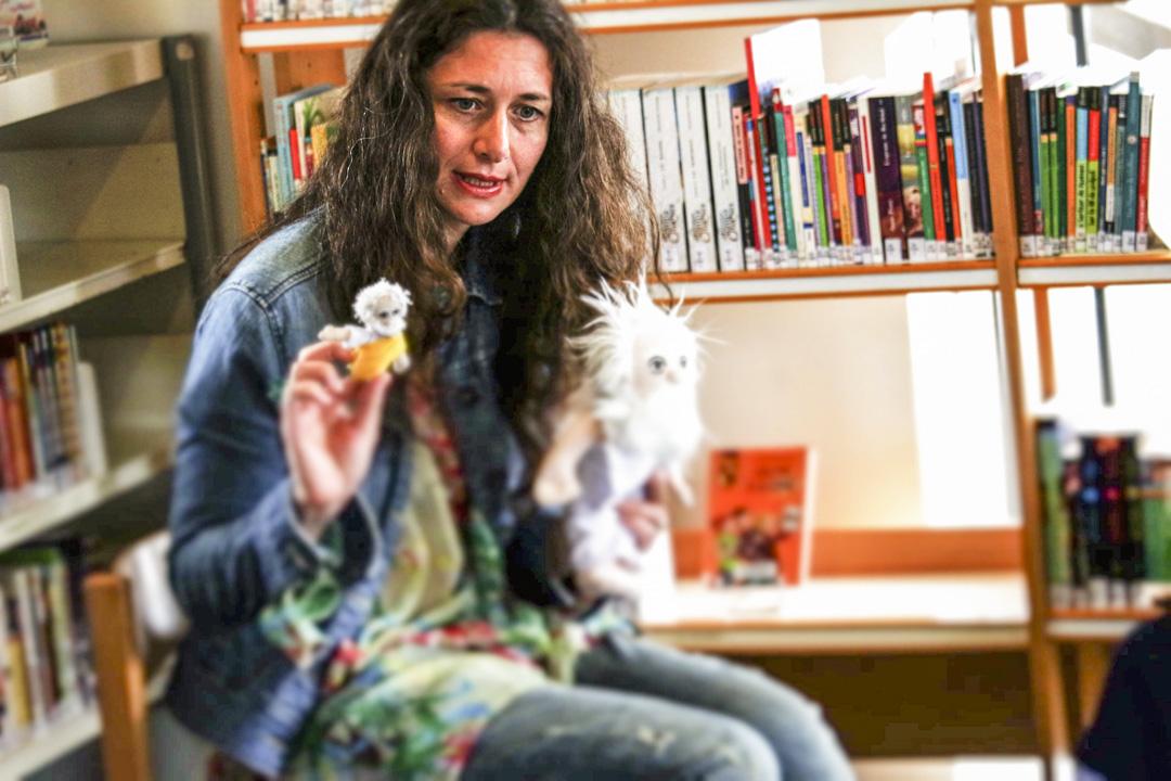 哲學博士Chiara Pastorini創辦的Les Petites Lumières (小光芒)機構,「小光芒」哲學工作坊大概1至1.5小時,經過30-45分鐘的討論,之後是藝術創作。哲學討論加上藝術活動,讓孩子把討論得出的概念進一步形象化。 圖:作者提供