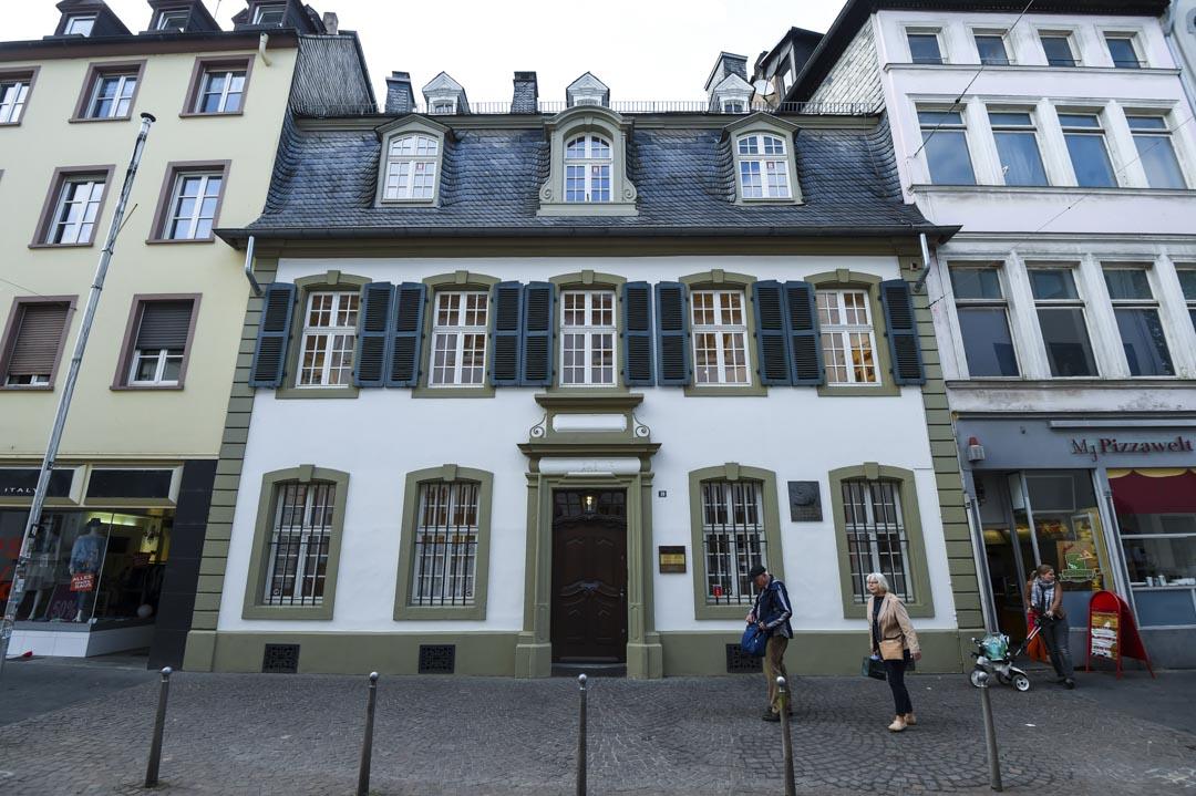 1818年5月5日,馬克思出生於德國特里爾(Trier)的這棟住宅內。