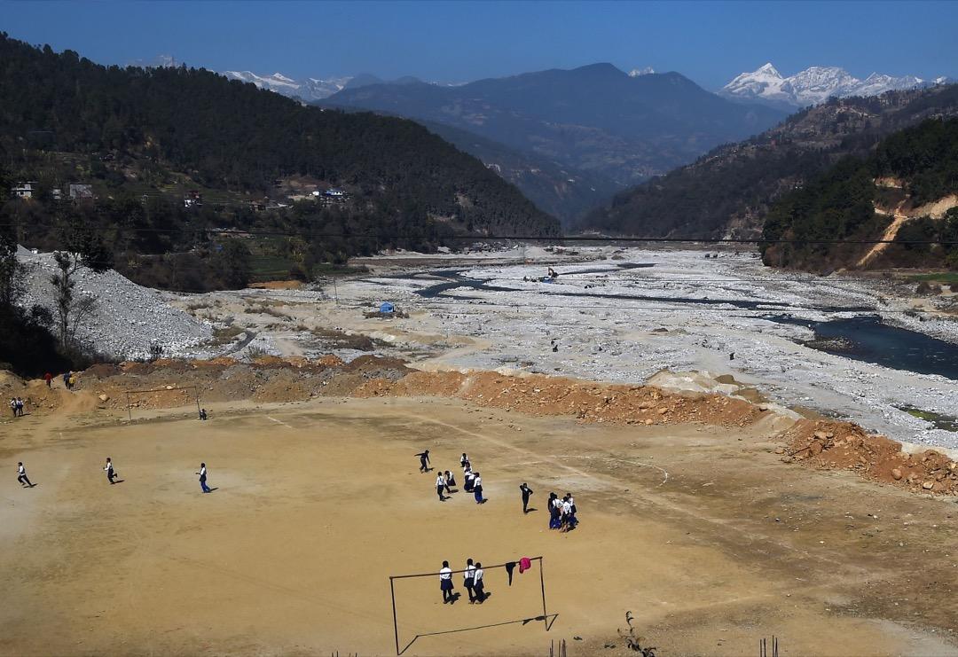 尼泊爾,新圖巴爾恰克地區。