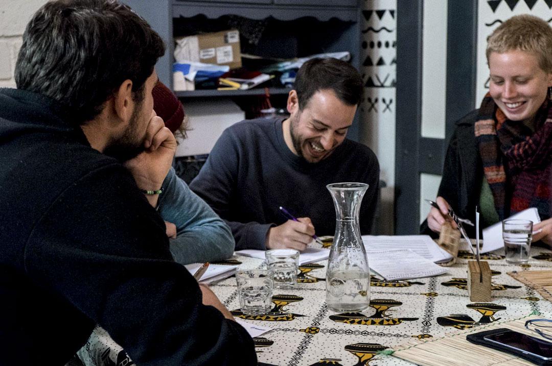 每逢星期二晚上的語言交流(tandem),是不少當地人和交流生認識朋友和練習語言的地方。