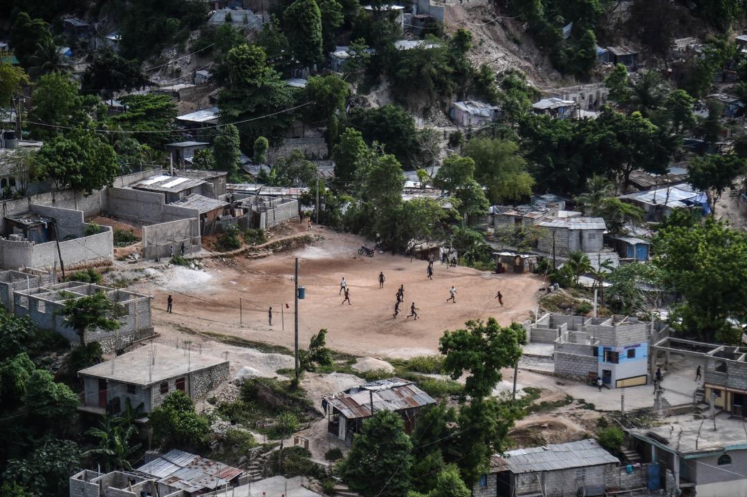 海地,太子港,佩蒂翁維爾鎮。
