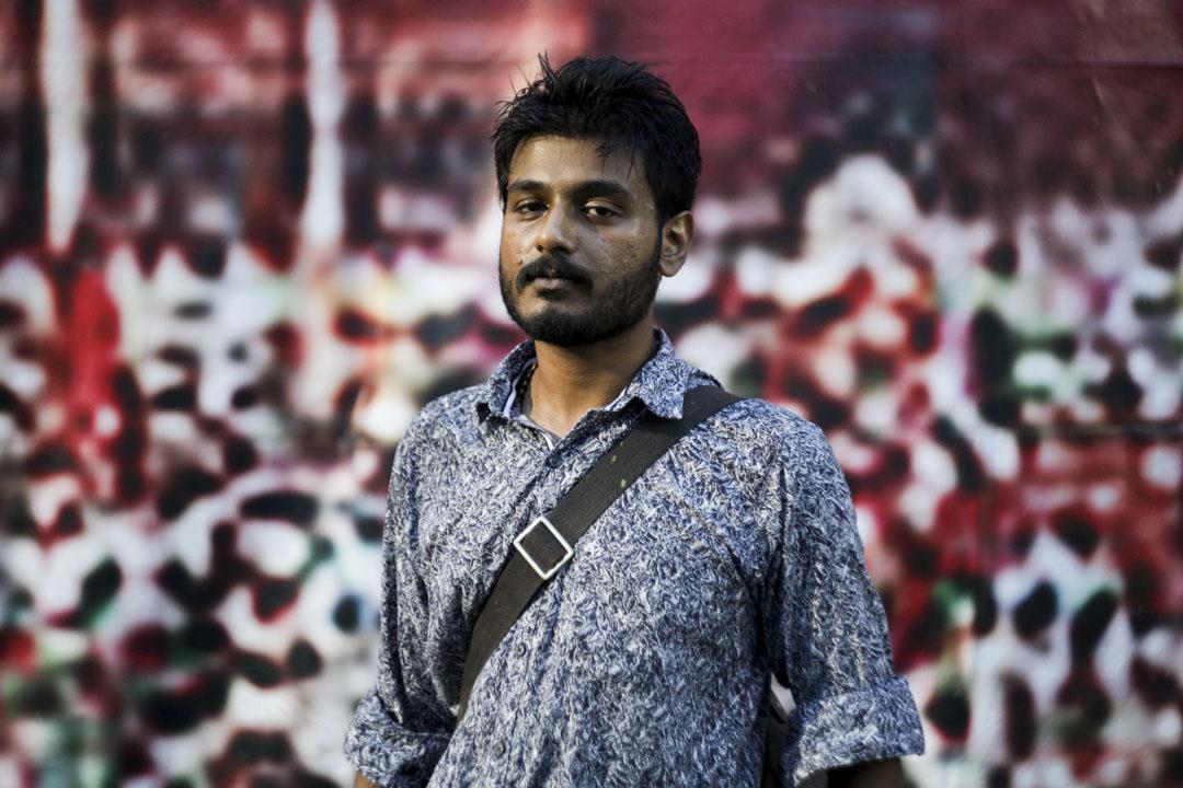 Nikil Inaya,22歲,來自印尼的畫家。