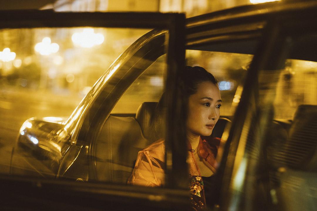 賈樟柯的《江湖兒女》劇照。