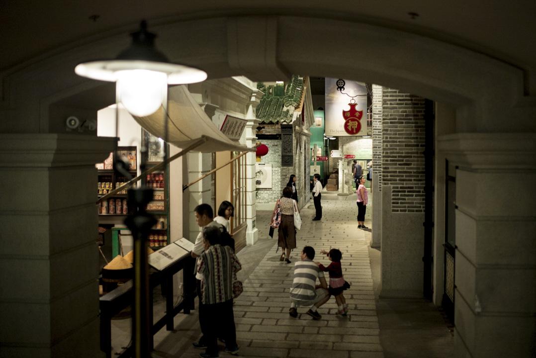 香港歷史博物館內的「香港故事」展覽。