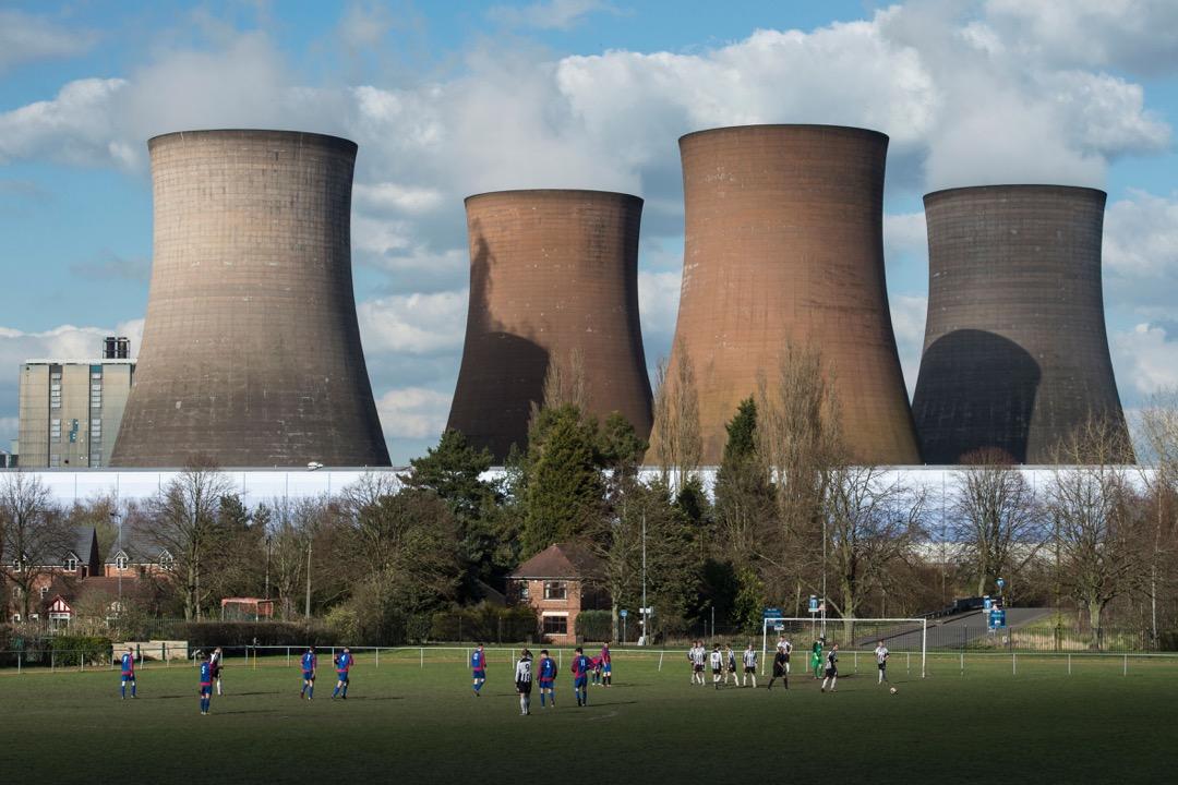 英國,斯塔福德郡,魯吉利發電廠。